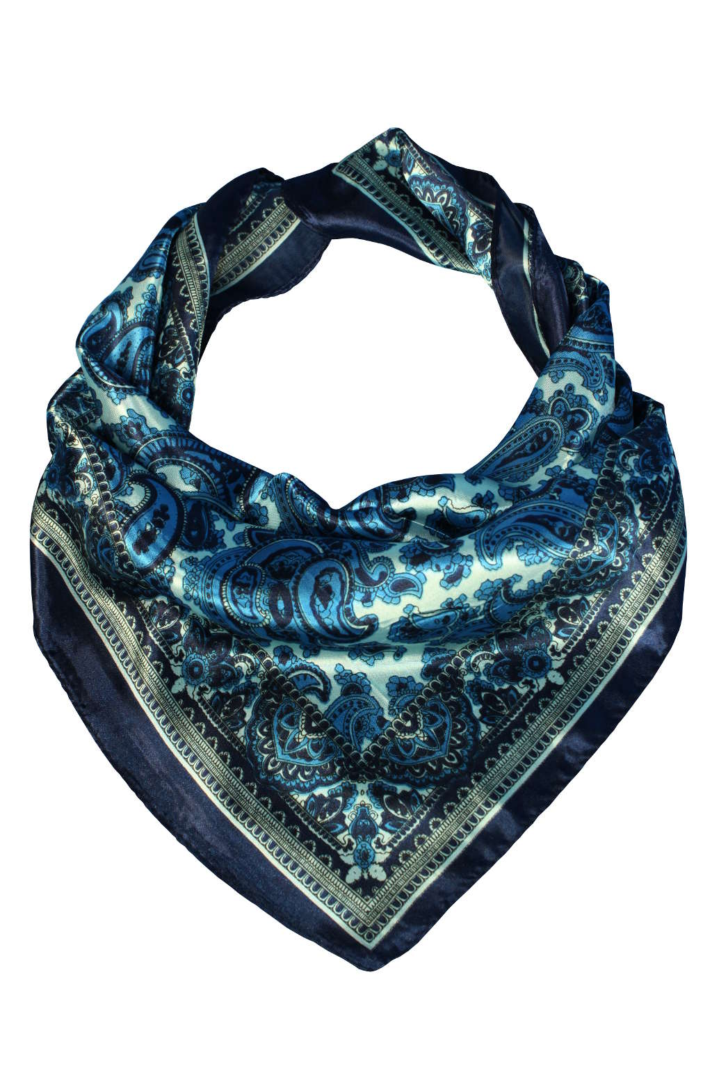 b90cb531cd4 Tmavě modrý šátek. Renesant