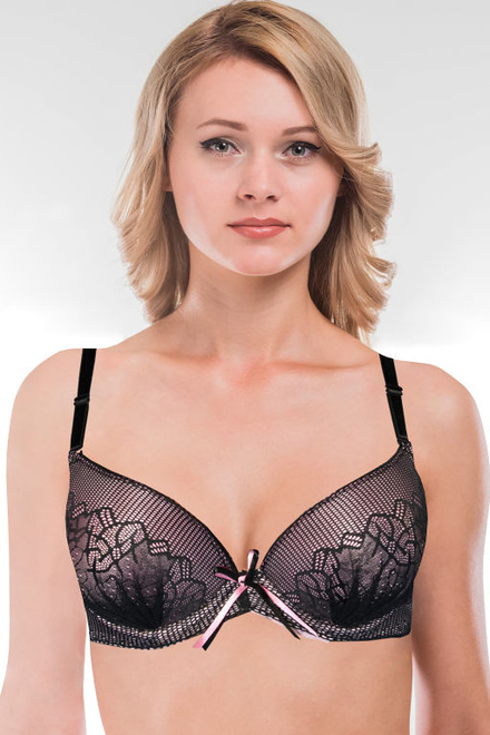 Garnet pink push up podprsenka