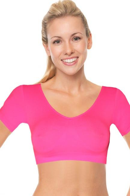 312812da447 Eiby G N tričko s rukávky zářivě růžová velikost  XL