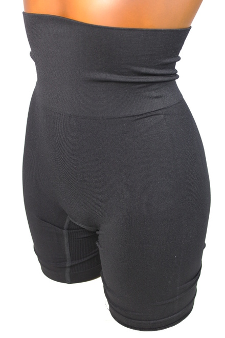 ed50dc80d20 Bixtra Lingerie stahovací kalhotky s vysokým pasem a nohavičkami ...