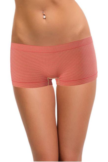dcbf3602168 Bokové kalhotky s proužky růžová velikost  XL