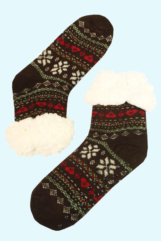 Bambusové maxi hřejivé domácí ponožky levné prádlo  425111bf51