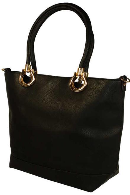 Sheri Black velká dámská kabelka černá  41c3e29c44