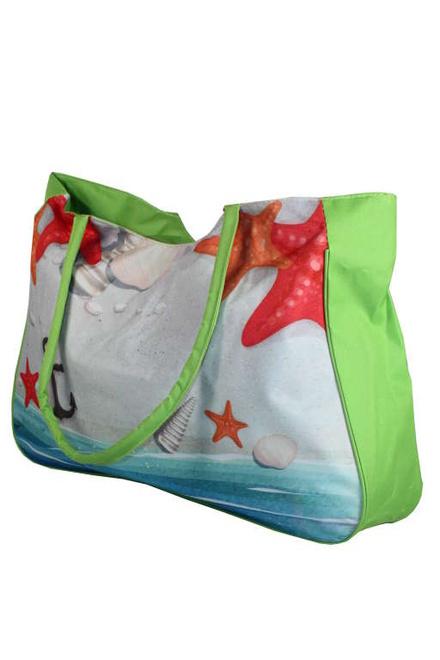 Plážová taška zelená  cdebef4307