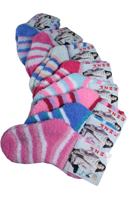 fcebb531b5f AMZF ponožky dětské spací smetanová velikost  5-6 let