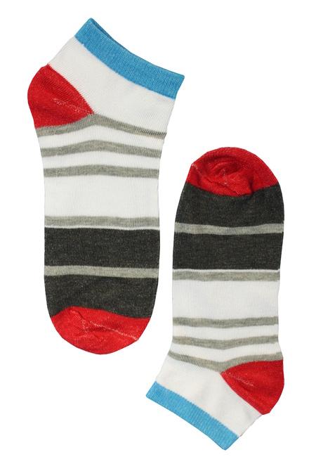 b32d72683ea Barevné kotníkové ponožky - 3páry levné prádlo