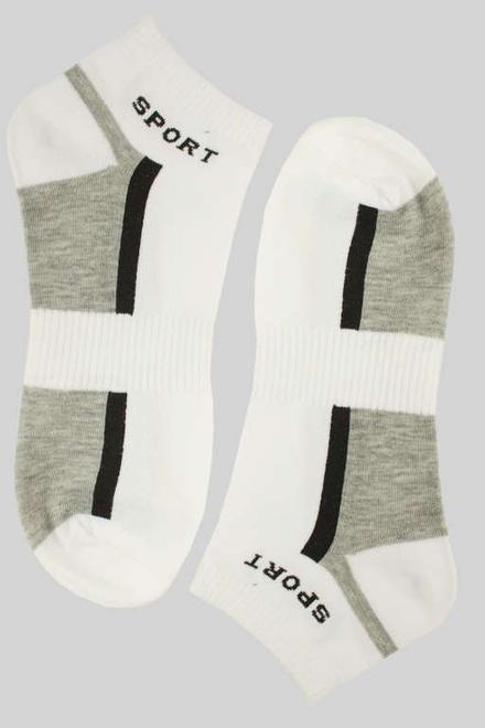 Sportovní pánské kotníčkové ponožky bílá velikost  40-44  198c3e9a65