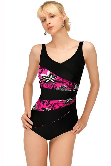 ea233c26a96 Verana jednodílné plavky pro starší dámy černá velikost  XL