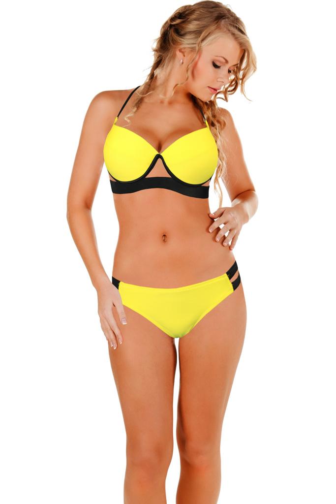 Viktoria dámské plavky sexy střih levné prádlo  b49c1472fc