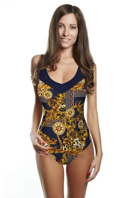 Egypt jednodílné plavky s vyztuženými košíčky levné prádlo  7213f0cb3b
