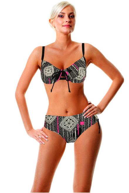 Maura Maxi dvojdílné plavky s kosticí levné prádlo  e6825420ad