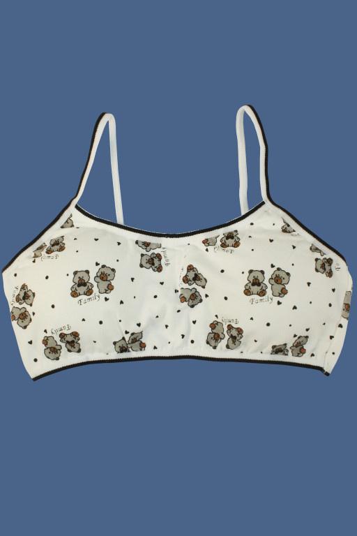 4bd2661d57b Little Bear dívčí podprsenka s měkkou výztuží levné prádlo