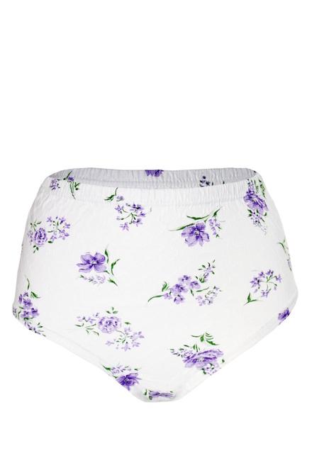 f8b01de8708 Babička Fialka bavlněné kalhotky levné prádlo