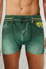Kelvin denim boxerky - 2ks