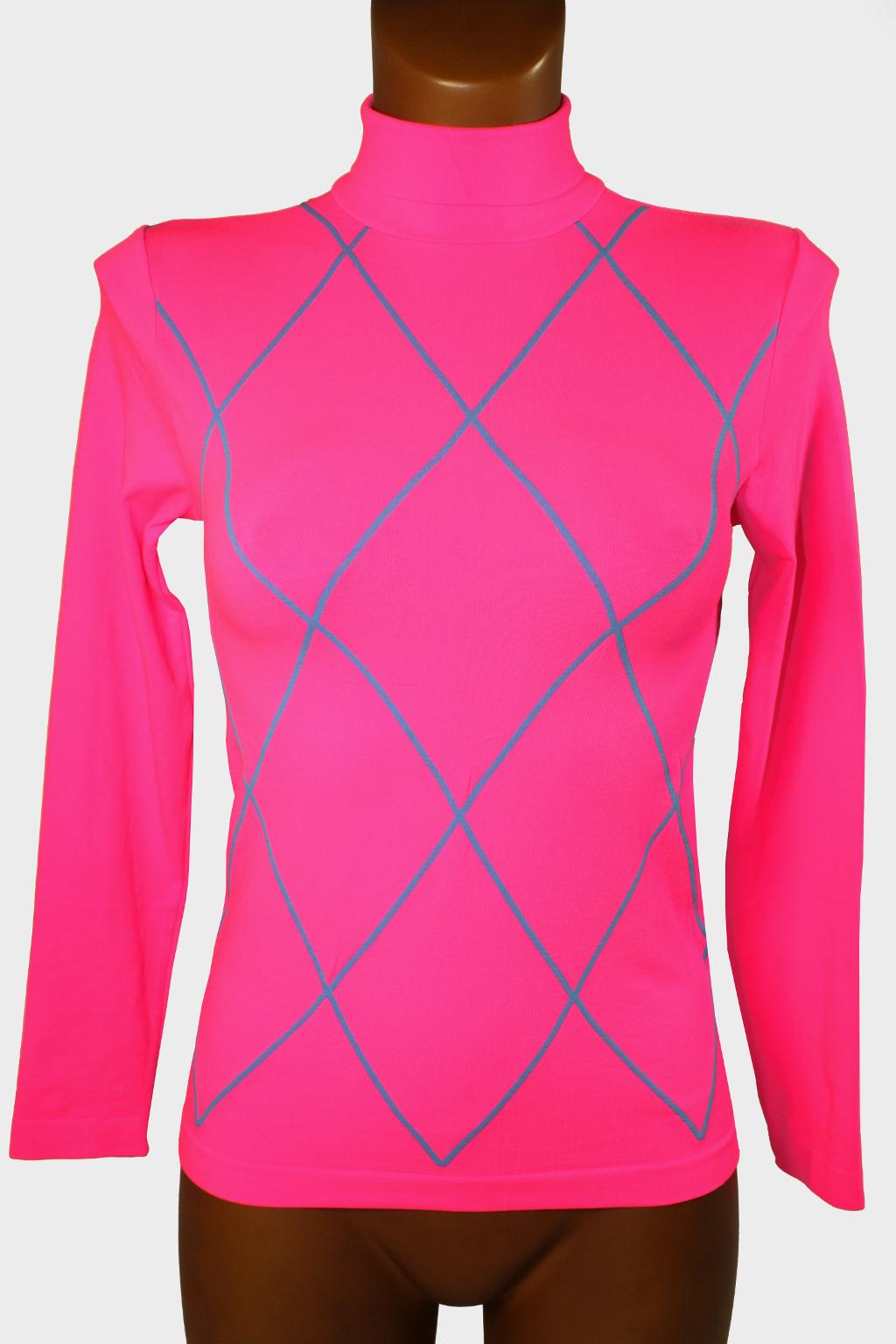 Nicola triko s dlouhým rukávem 9-10 let zářivě růžová
