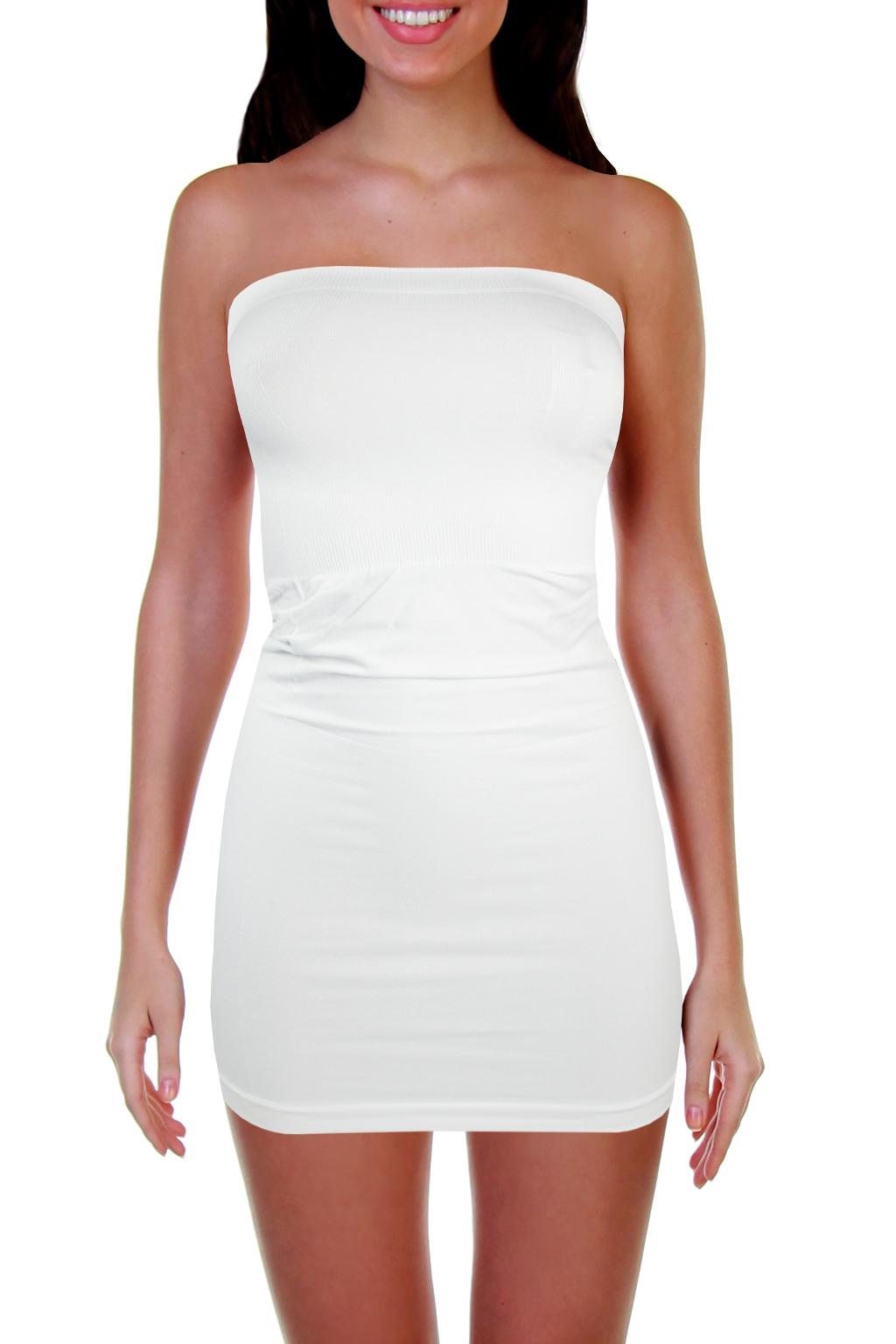 Shakira G&N šaty elastické M bílá