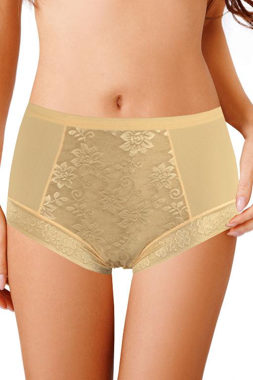 Maggie dámské plné kalhotky XL béžová