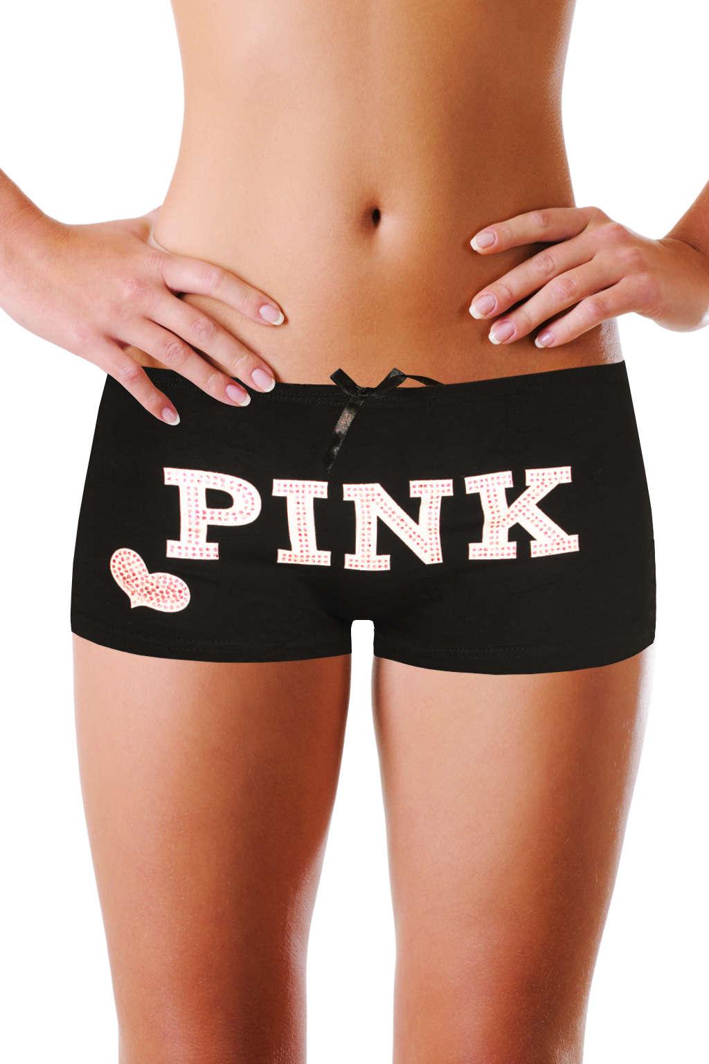Dane boyleg kalhotky - boxerky S černá