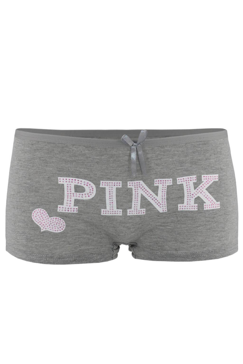 Dane boyleg kalhotky - boxerky S šedá