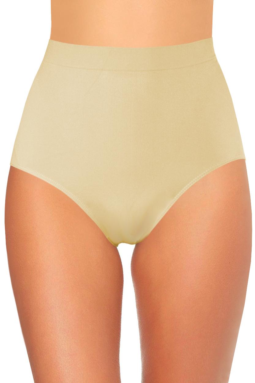 Miranda I stahovací vysoké kalhotky XL béžová