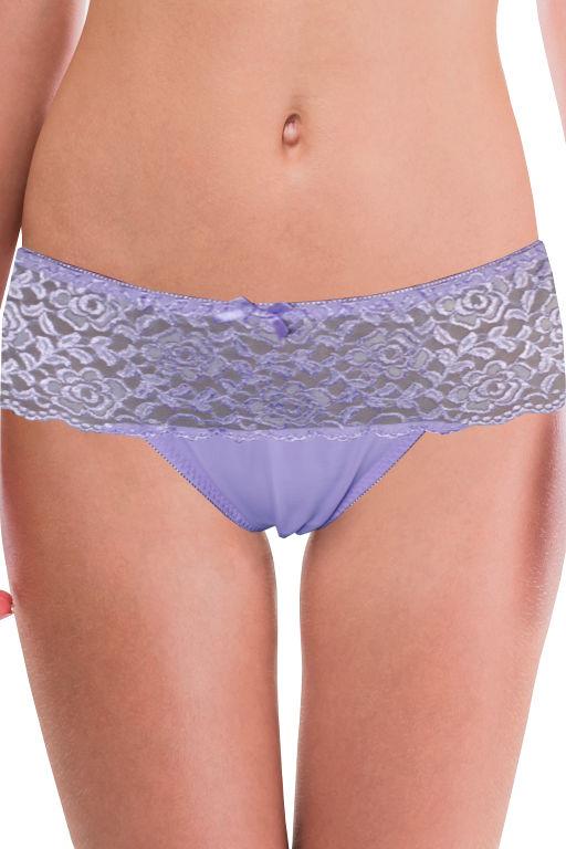 Antea luxusní značkové kalhotky P430 XL světle fialová