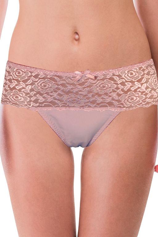 Antea luxusní značkové kalhotky P430 XL světle růžová