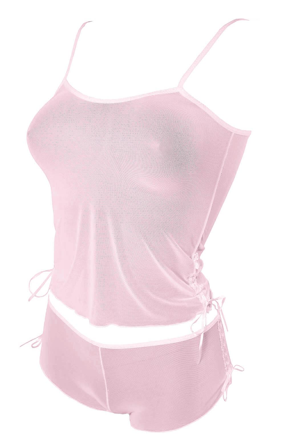 Selma komplet podprsenka + kalhotky M růžová
