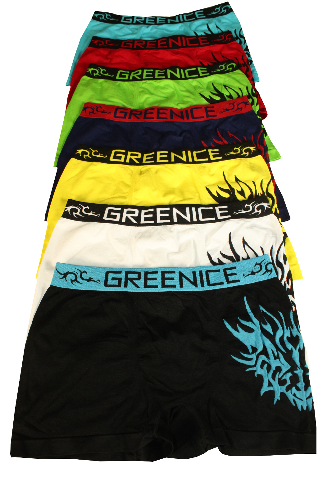 Greenice Fire boxerky - 3pack XL MIX