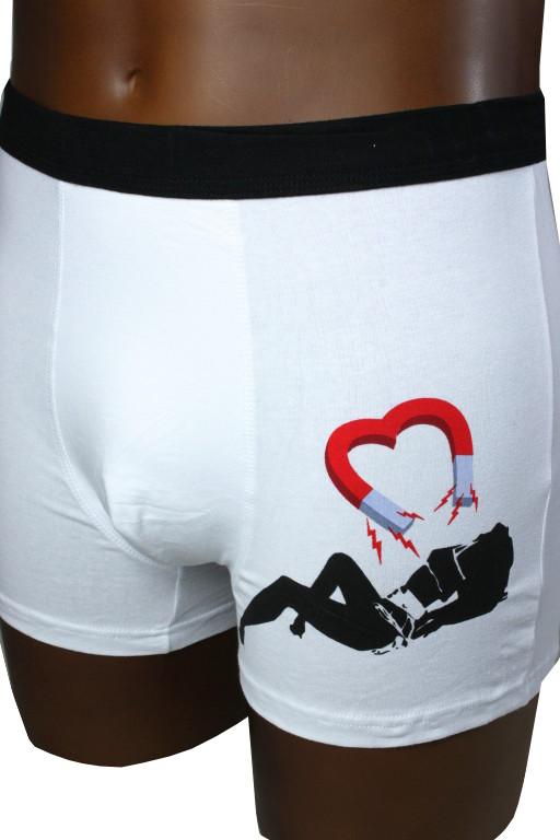 Amos pánské spodní prádlo S bílá