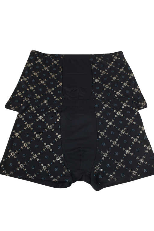 Skyle Boxer bambusové prádlo - 2ks XL tmavě modrá