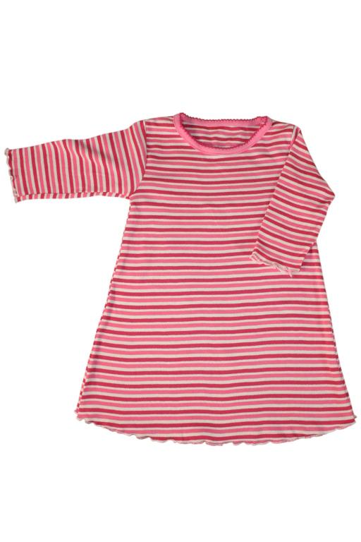 Julianka dívčí noční košile 3-6 měs tmavě růžová
