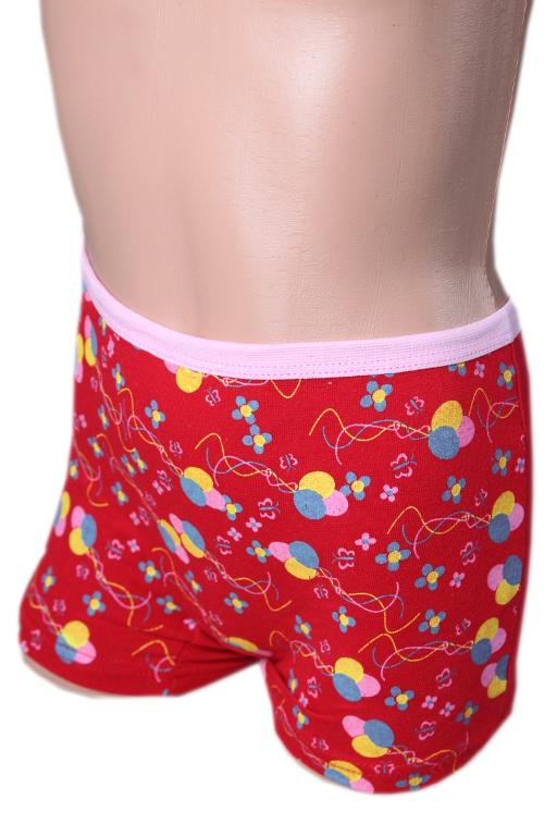 Paty dívčí kalhotky červená 1-2 roky