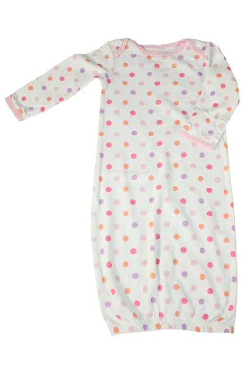 Rozálie dívčí noční košile 0-3 měs bílá