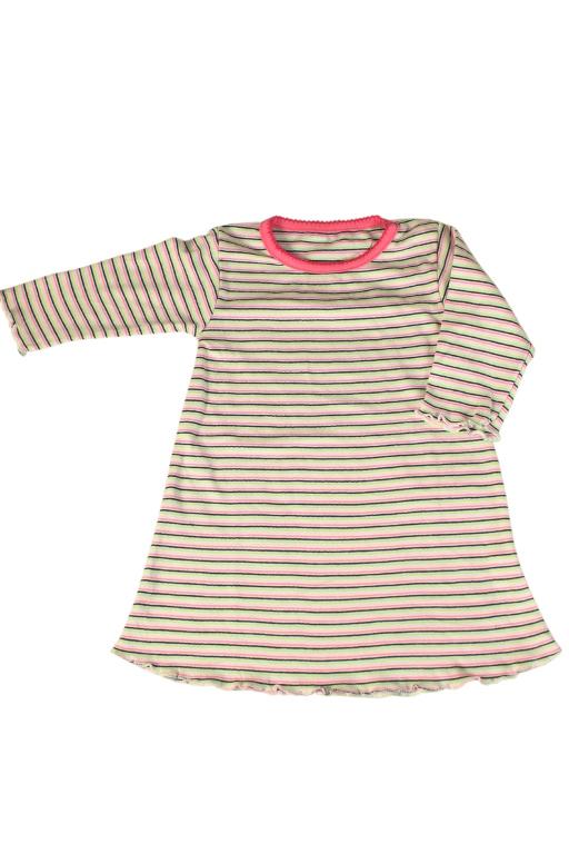Julianka dívčí noční košile 3-6 měs světle růžová