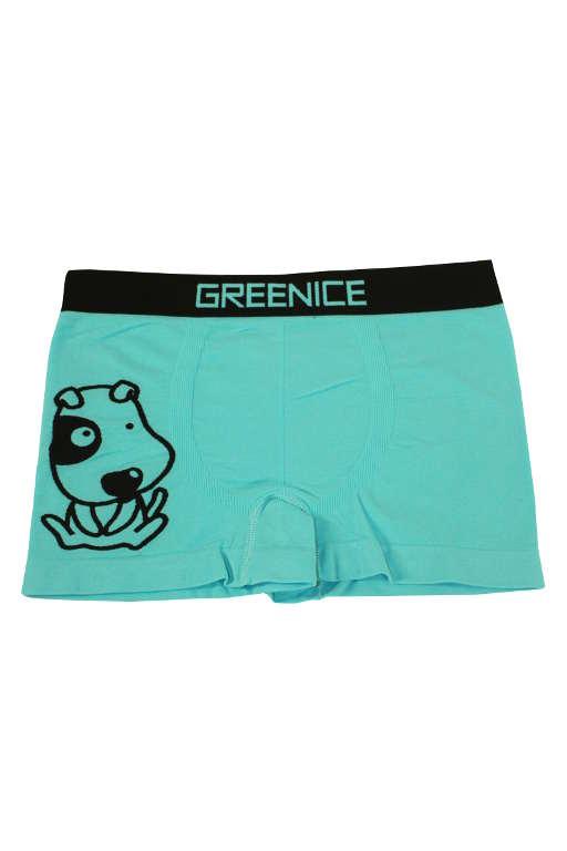 Fredy Dog chlapecké boxerky 5-6 let světle modrá