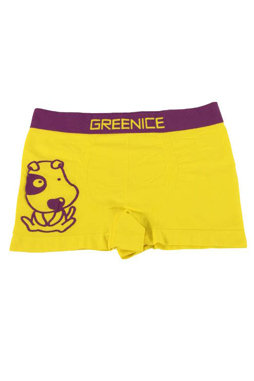 Fredy Dog chlapecké boxerky 7-8 let žlutá