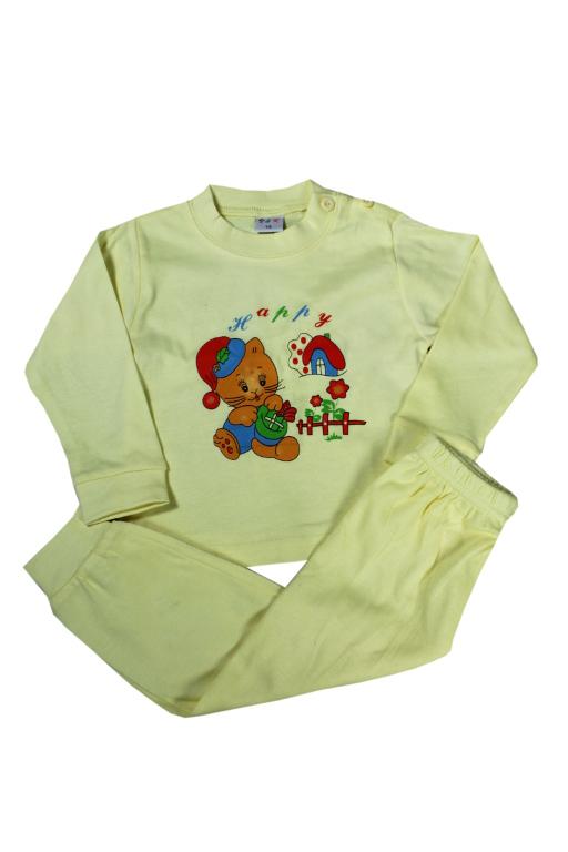 Frodo dětské pyžamko 1 rok 1 rok žlutá