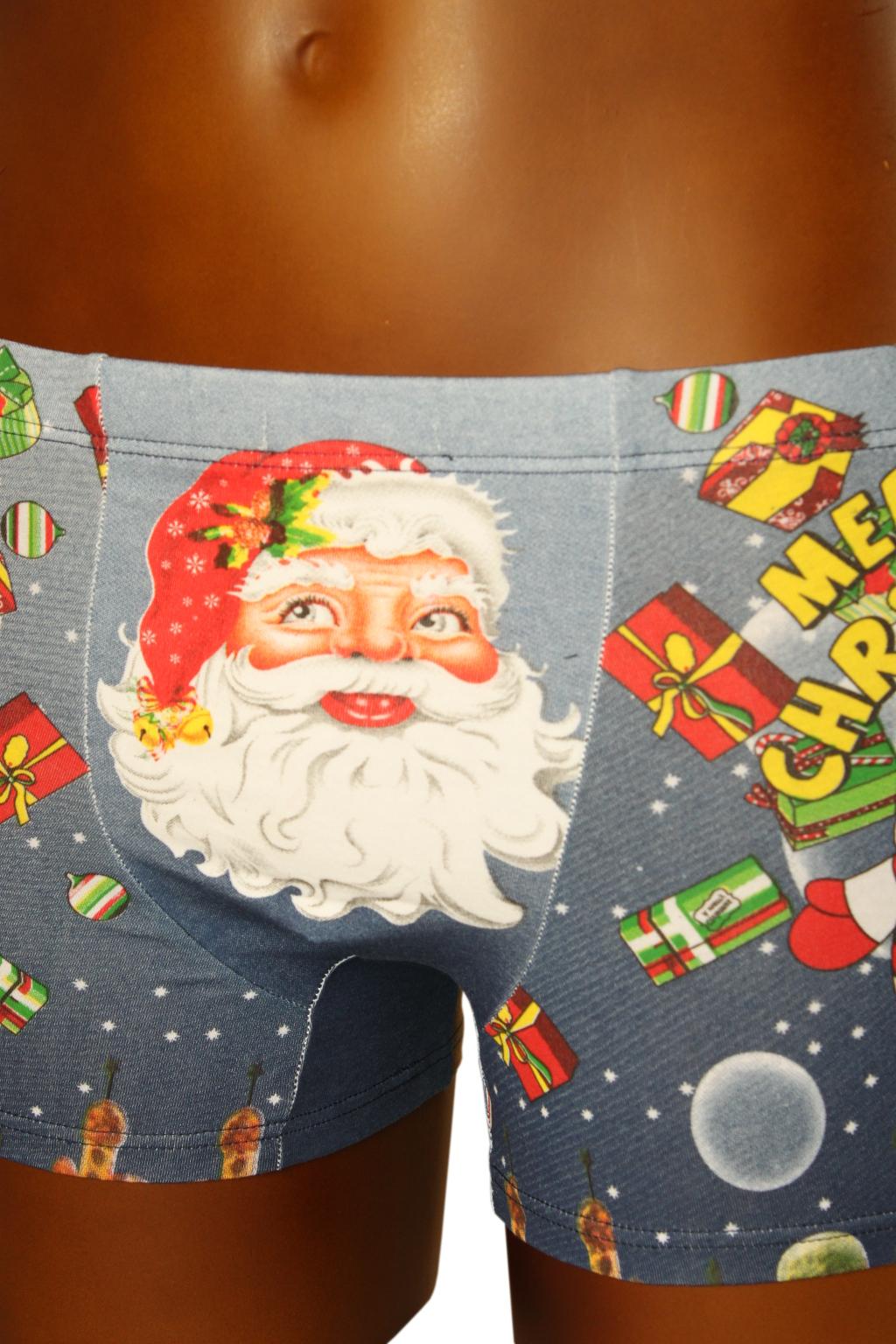 Boxerky Merry Christmas 13-14 let modrá