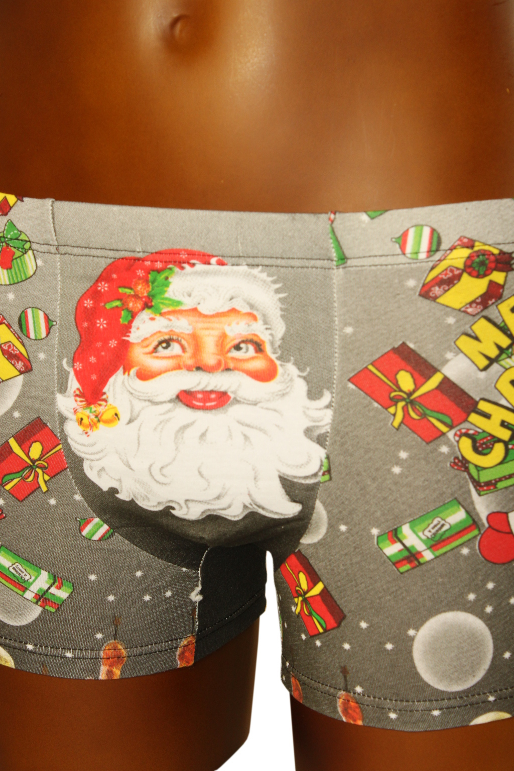 Boxerky Merry Christmas 13-14 let tmavě šedá