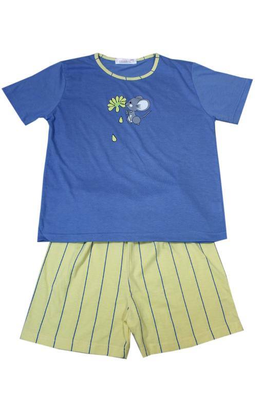 Aneta - dívčí pyžamo modrá 13-14 let