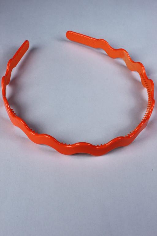Čelenka fosforové barvy oranžová x