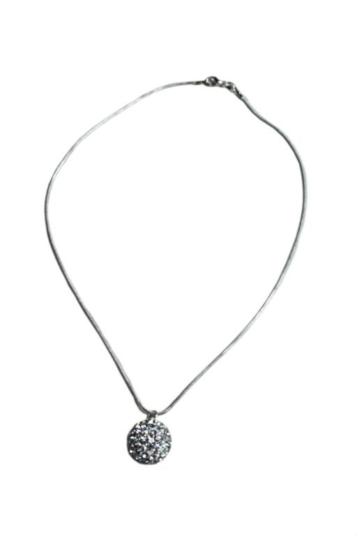 Elegantní řetízek s přívěskem stříbrná x