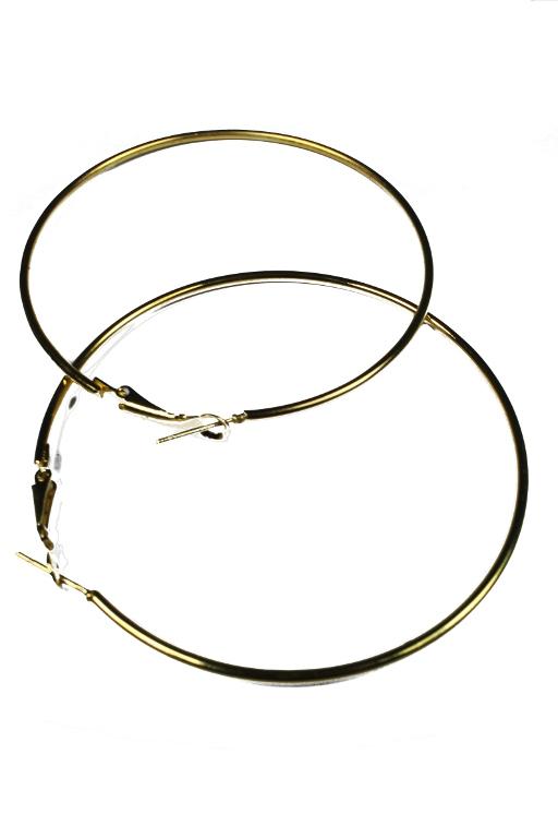 Zlaté kruhy 6,5 cm x zlatá