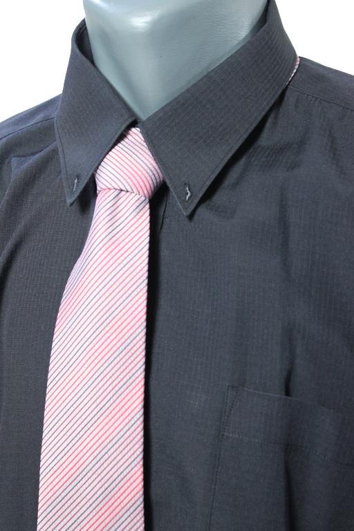 DH & AA kravata x světle červená