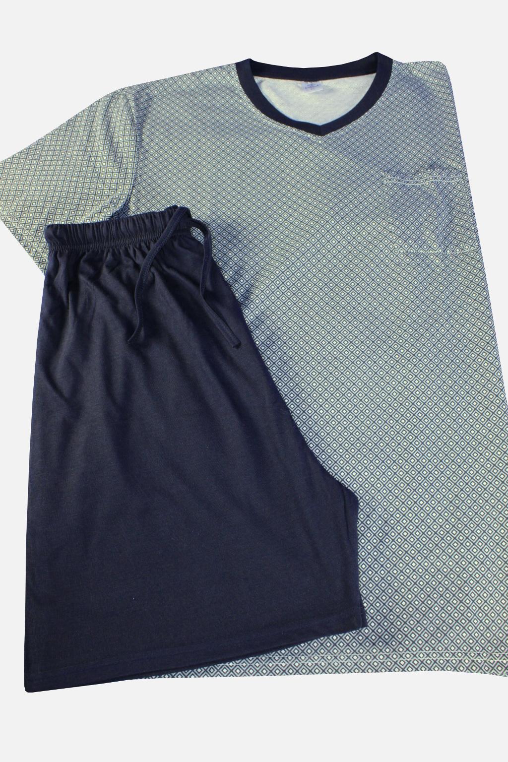 Javon pánské pyžamo XXL tmavě modrá