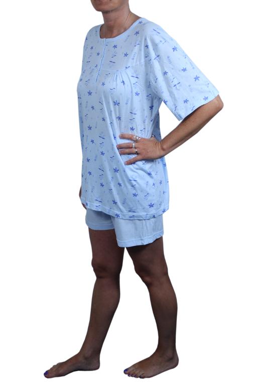 Glorious dámské pyžamo M světle modrá