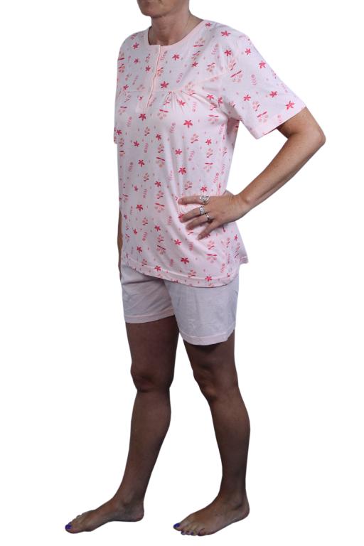 Glorious dámské pyžamo M světle oranžová