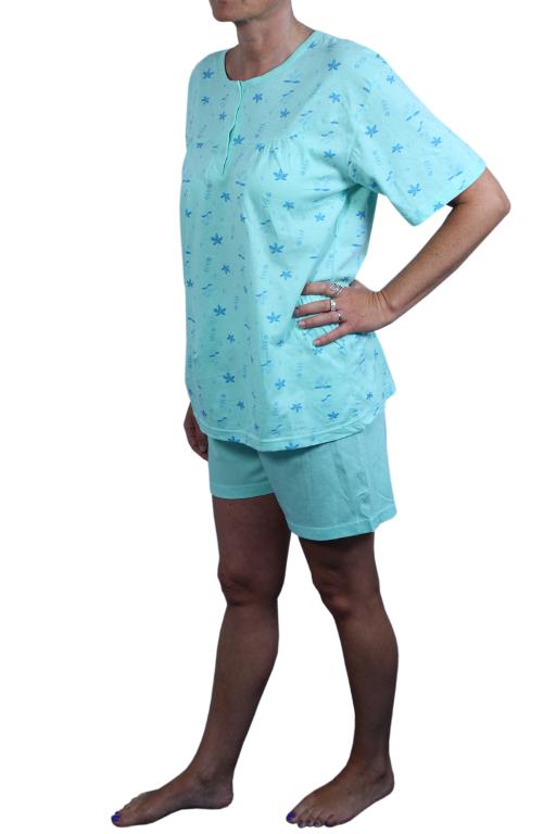 Glorious dámské pyžamo XL zelená