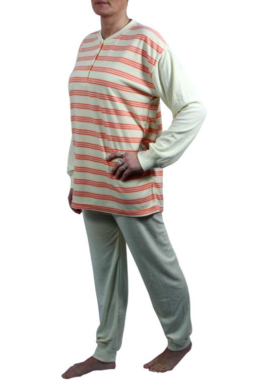 Claudia pyžamo M béžová