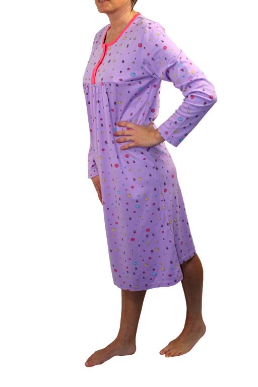 Hannah dámská noční košile fialová M